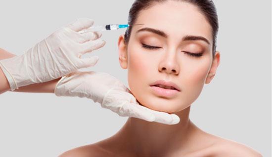Tratamiento facial toxina botulínica